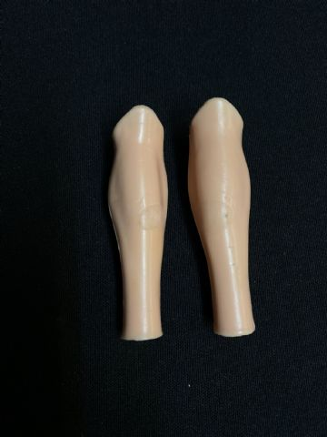 VINTAGE ACTION MAN - Pair of Spare Lower Legs ( Ref 2)